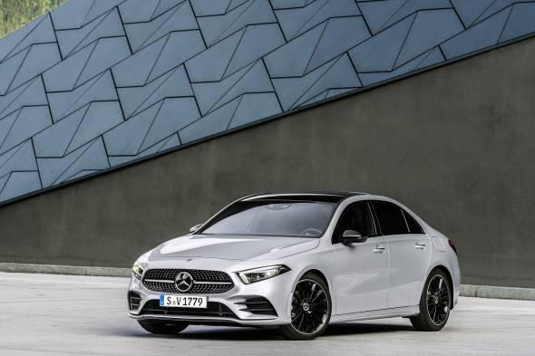Mercedes-Benz A-Class Saloon review