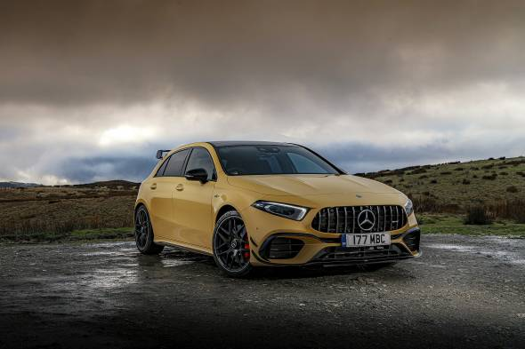 Mercedes-AMG A 45 S 4MATIC+ review