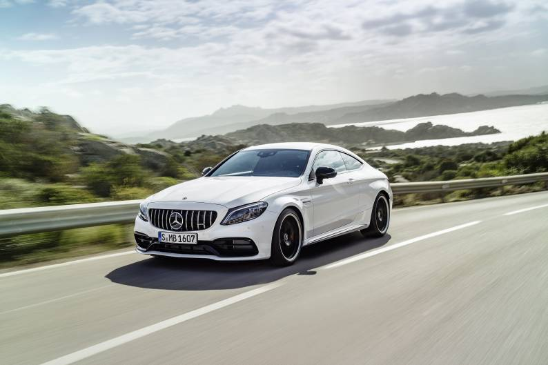 Mercedes-AMG C 63 Coupe review