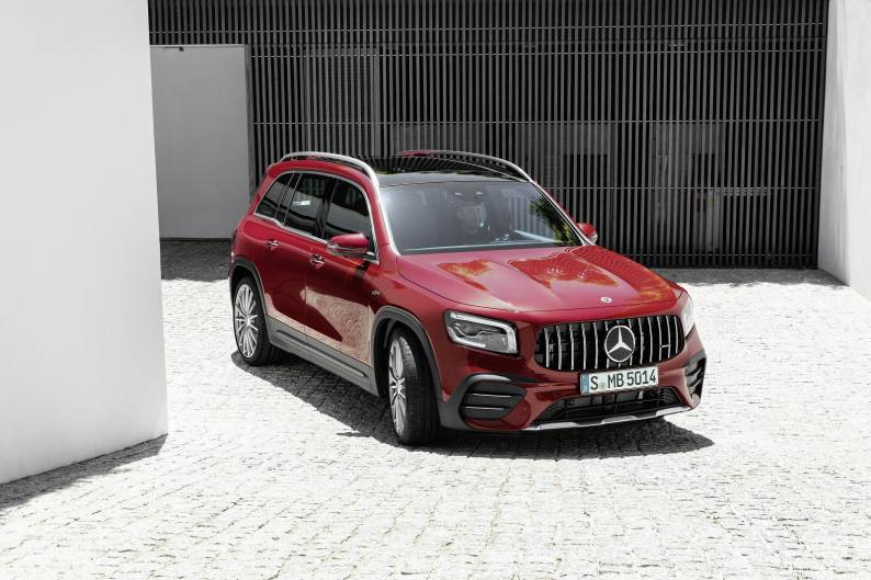 Mercedes-AMG GLB 35 4MATIC review