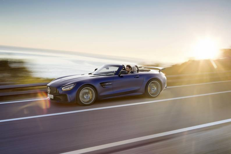 Mercedes-AMG GT Roadster review