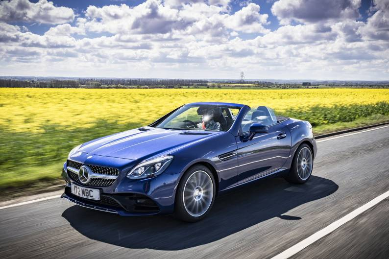 Mercedes-Benz SLC review