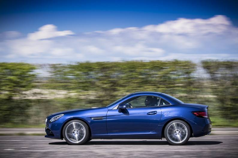 Mercedes-Benz SLC 300 review