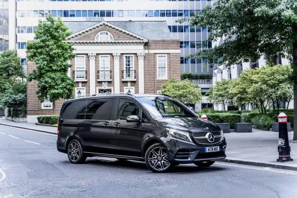 Mercedes-Benz V220d review