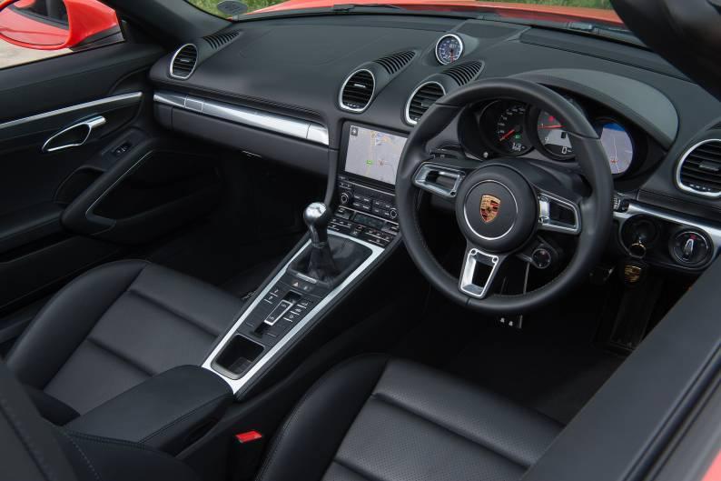 Porsche 718 Boxster S review