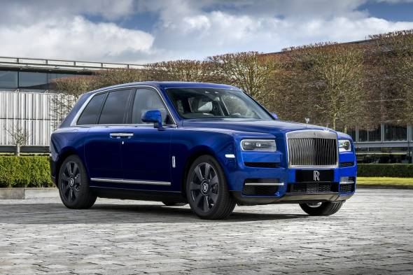 Rolls Royce Cullinan review