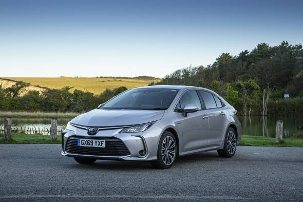 Toyota Corolla Saloon review
