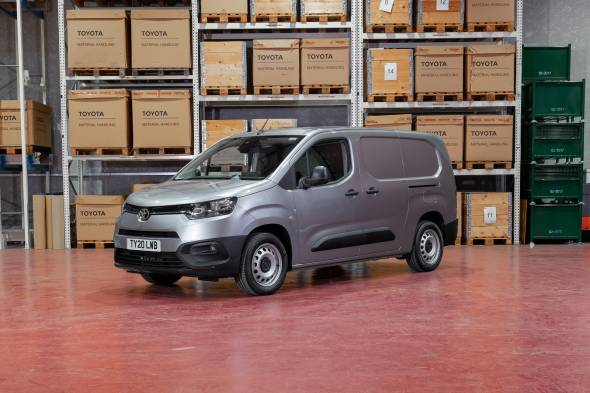 Toyota Proace City van review