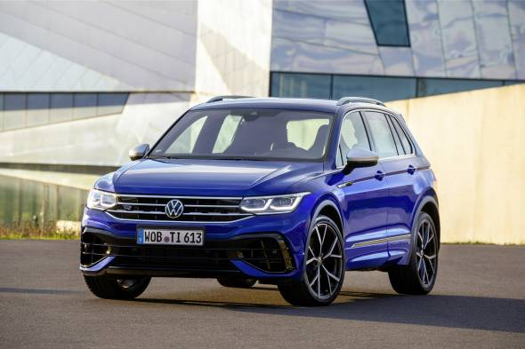 Volkswagen Tiguan R review