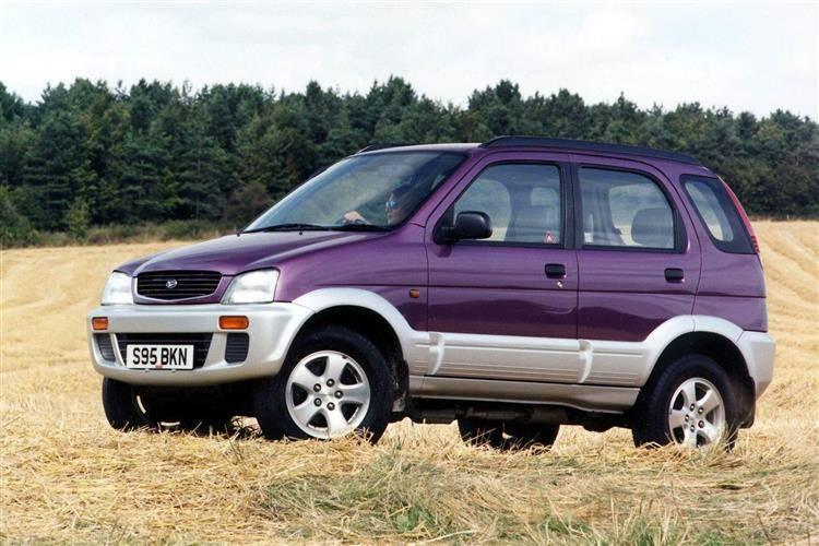 Daihatsu Terios (1997 - 2006) used car review