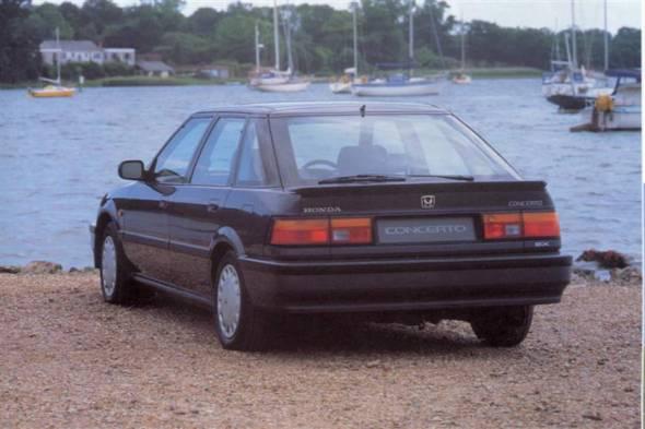 Honda Concerto (1991 - 1995) used car review