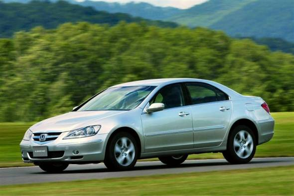 Honda Legend (2006 - 2010) used car review