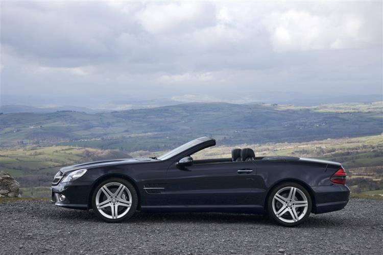 Mercedes-Benz SL (2002 - 2008) used car review