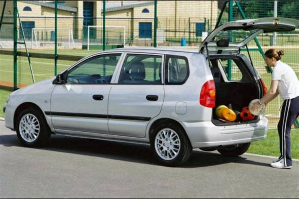 Mitsubishi Space Star (2002 - 2006) used car review