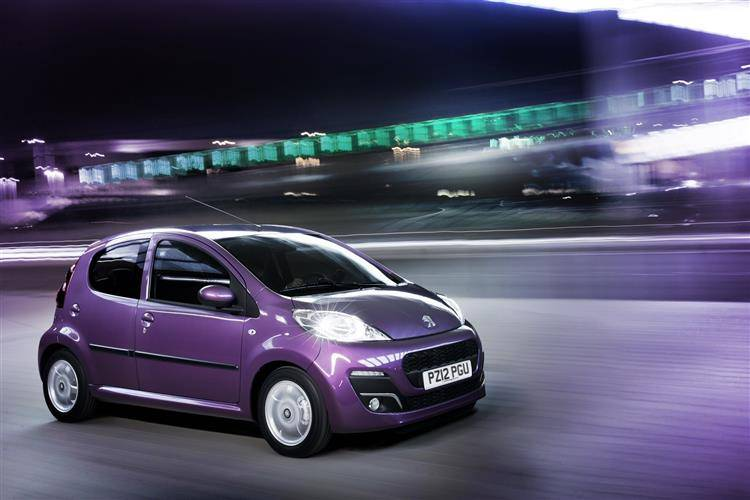 Peugeot 107 (2012 - 2014) used car review
