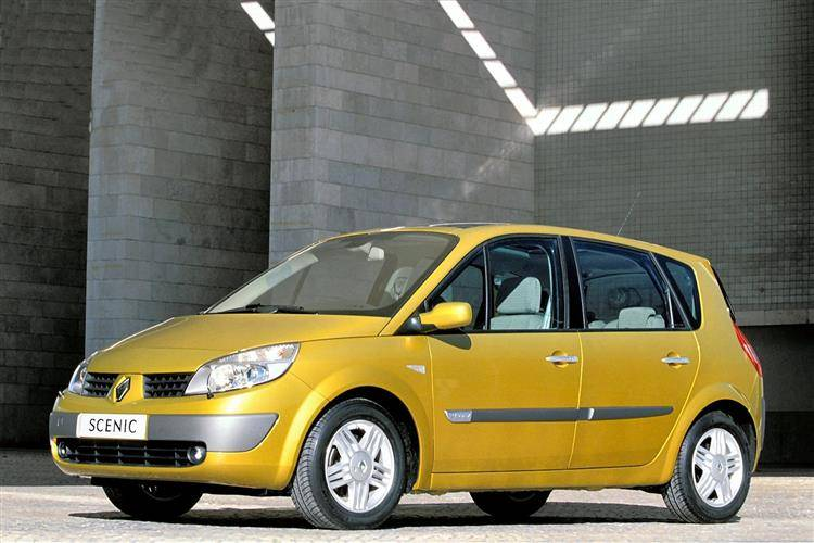 RENAULT MEGANE SCENIC MK2 1.5 DCi Diesel Fuel flap de 2004