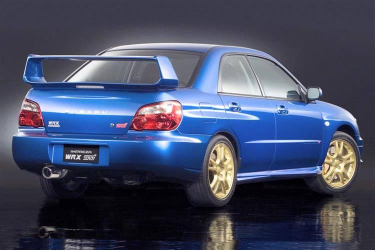 Subaru Impreza WRX Sti (2002 - 2007) used car review