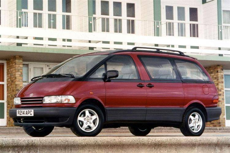 Toyota Previa 1990 2000 Used Car Review Car Review Rac Drive