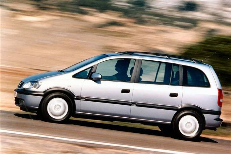 Vauxhall Zafira (1999 - 2005) used car review